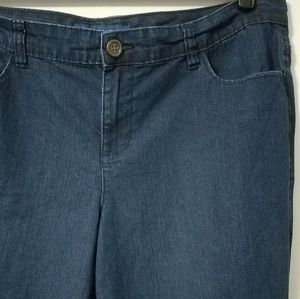 Comfy Lane Bryant Avenue dark wash jeans, 18